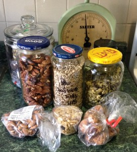 so many nuts & seeds